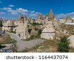 cappadocia  turkey   a unesco... | Shutterstock . vector #1164437074