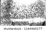 grunge halftone dots pattern... | Shutterstock .eps vector #1164460177