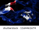 national flag of french... | Shutterstock . vector #1164461674