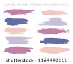 textured label brush stroke... | Shutterstock .eps vector #1164490111