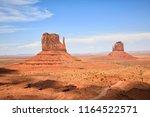 monument valley arizona utah... | Shutterstock . vector #1164522571