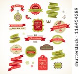 Christmas Vintage Labels ...
