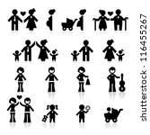 people and family | Shutterstock .eps vector #116455267