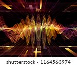 wave function series. design... | Shutterstock . vector #1164563974