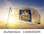 sonora state of mexico flag... | Shutterstock . vector #1164633244