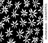 white and black grunge pattern. ... | Shutterstock .eps vector #1164655921