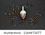 bunch of very old and rusty... | Shutterstock . vector #1164671077