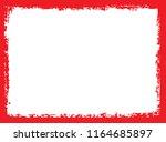 vector grunge frame.grunge... | Shutterstock .eps vector #1164685897