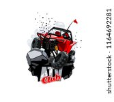 off road atv buggy logo  club.   Shutterstock .eps vector #1164692281