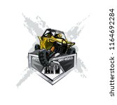 off road atv buggy logo ...   Shutterstock .eps vector #1164692284