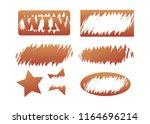 scratch cards vector. lottery... | Shutterstock .eps vector #1164696214