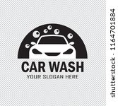 car wash service icon isolated... | Shutterstock .eps vector #1164701884