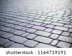 paving stones. concept of... | Shutterstock . vector #1164719191