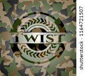 twist on camouflage texture | Shutterstock .eps vector #1164721507