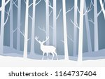 vector paper cut style... | Shutterstock .eps vector #1164737404