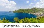 panoramic view of jade mountain ... | Shutterstock . vector #1164740227