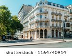lisbon  portugal   august 20 ... | Shutterstock . vector #1164740914