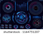 computer control processes.... | Shutterstock . vector #1164751207