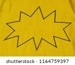 yellow denim background with... | Shutterstock . vector #1164759397