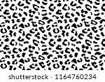 leopard seamless pattern. white ...   Shutterstock .eps vector #1164760234