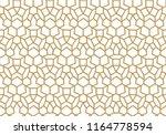 seamless geometric pattern.... | Shutterstock .eps vector #1164778594