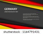 modern background with german... | Shutterstock .eps vector #1164791431