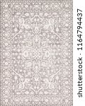 vintage rug eastern silk pattern | Shutterstock . vector #1164794437