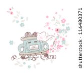 just married | Shutterstock .eps vector #116480371