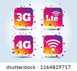 mobile telecommunications icons....   Shutterstock .eps vector #1164829717