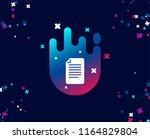 document management simple icon....