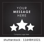 template of square web black... | Shutterstock .eps vector #1164841021