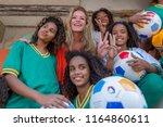 rio de janeiro  brazil   august ...   Shutterstock . vector #1164860611