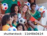 rio de janeiro  brazil   august ...   Shutterstock . vector #1164860614