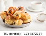traditional swedish saffron... | Shutterstock . vector #1164872194