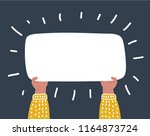 vector cartoon funny... | Shutterstock .eps vector #1164873724