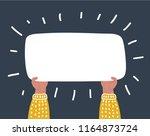 vector cartoon funny... | Shutterstock .eps vector #1164873724