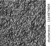 scribbled lines vector texture  ... | Shutterstock .eps vector #1164874804