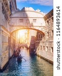 view of the bridge of sighs ... | Shutterstock . vector #1164893614