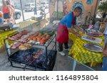 rio de janeiro  brazil   august ...   Shutterstock . vector #1164895804