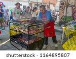 rio de janeiro  brazil   august ...   Shutterstock . vector #1164895807