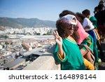 rio de janeiro  brazil   august ...   Shutterstock . vector #1164898144