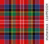 caledonia tartan pattern.... | Shutterstock .eps vector #1164901024