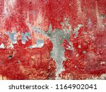 cracked peeling and stains on... | Shutterstock . vector #1164902041