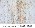 texture of rusty metal plate... | Shutterstock . vector #1164911701