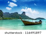 Clear Water And Blue Sky. Beac...