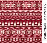 nordic pattern illustration. | Shutterstock .eps vector #1164925177