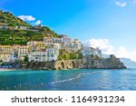 View Of Amalfi Village Along...