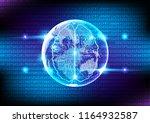 vector artificial intelligence... | Shutterstock .eps vector #1164932587