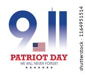 9.11 patriot day | Shutterstock .eps vector #1164951514
