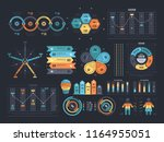 financial and marketing... | Shutterstock . vector #1164955051